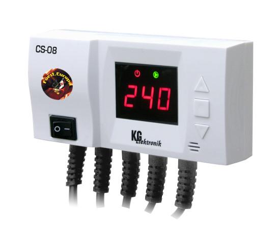 Temperaturdifferenzregler CS-08 Steuerung für Pumpe vom Vorlauf und ...