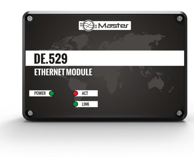 Ethernet-Modul DE.529 Überwachung des Kesselbetriebs, Steuerung über ...